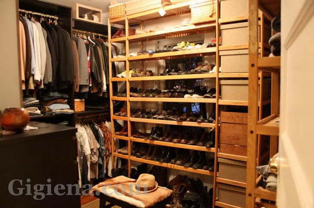 простая гардеробная