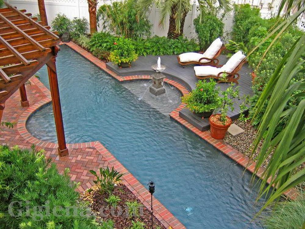бассейн на террасе