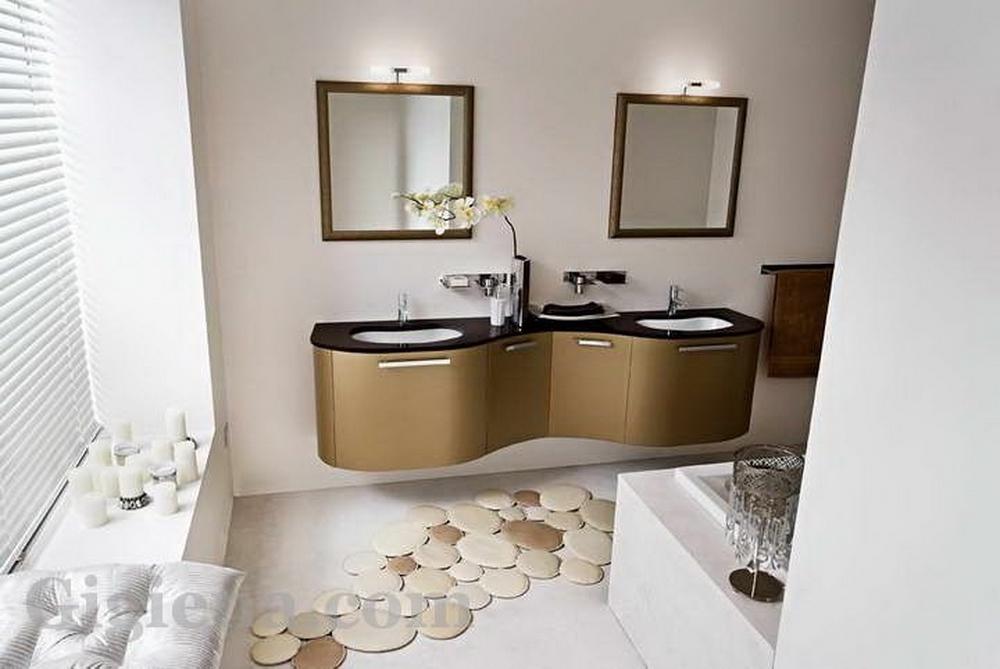 элитная мебель в ванной модерн