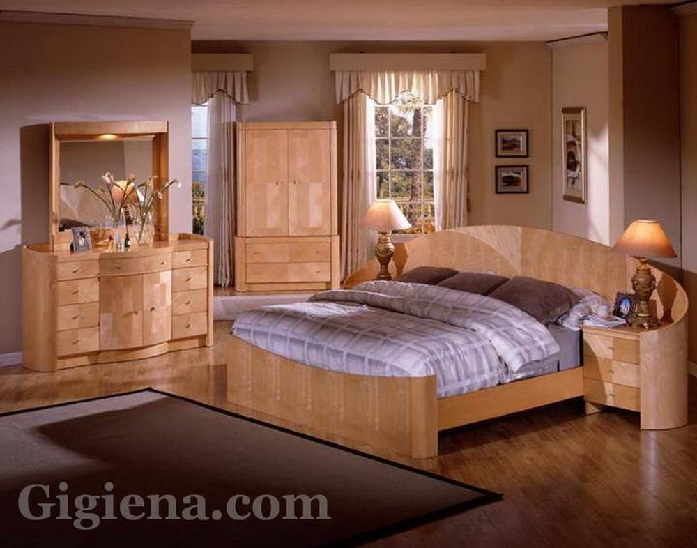 натуральная мебель для спальни