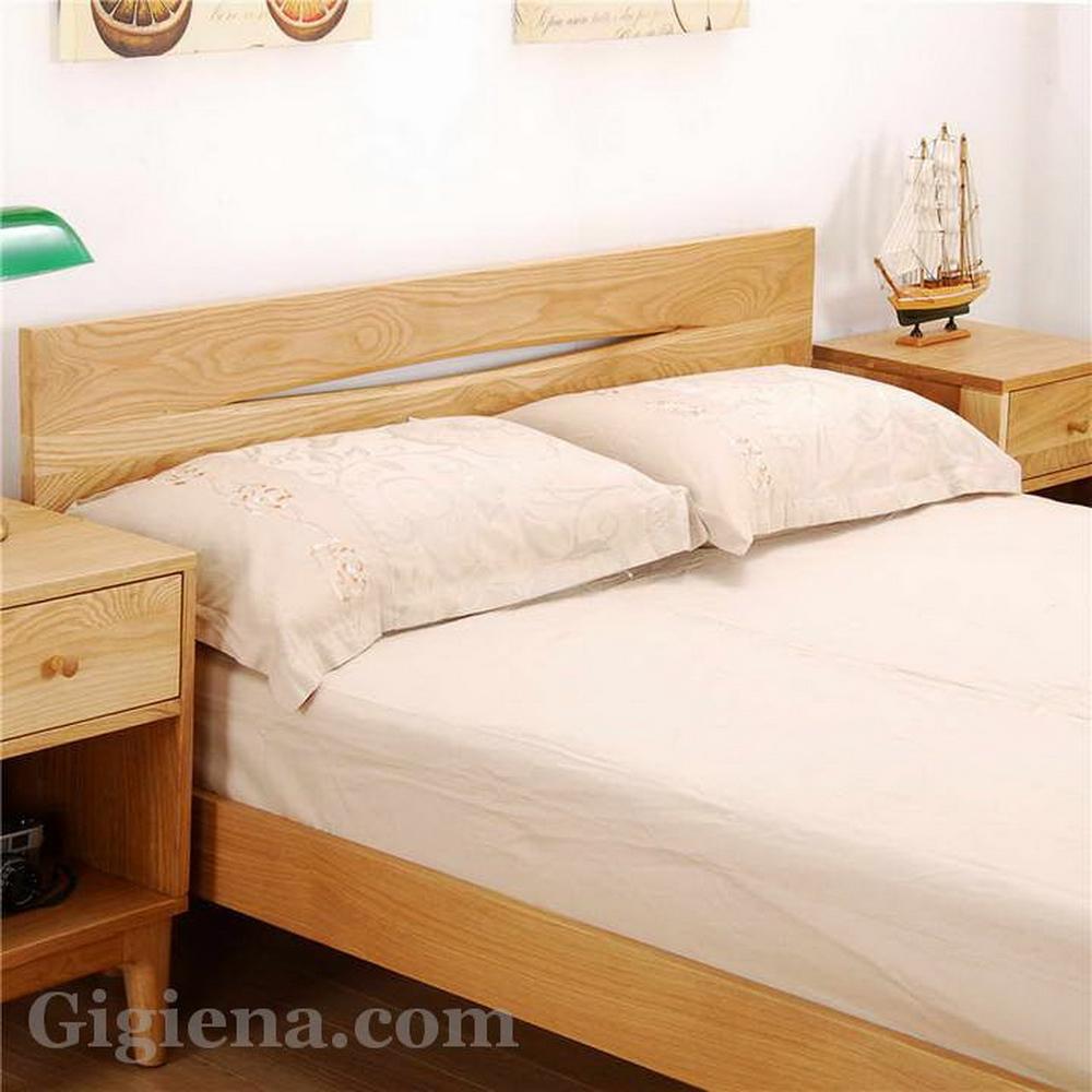 натуральная древесина для спальни