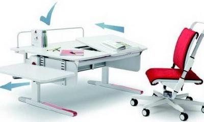 Выбор письменного стола для ребёнка