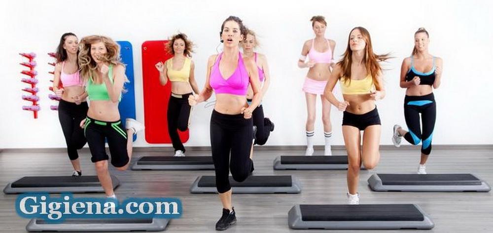 занятия фитнесом и дыхание