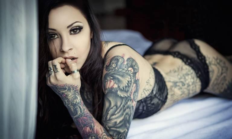 маленькие женские татуировки