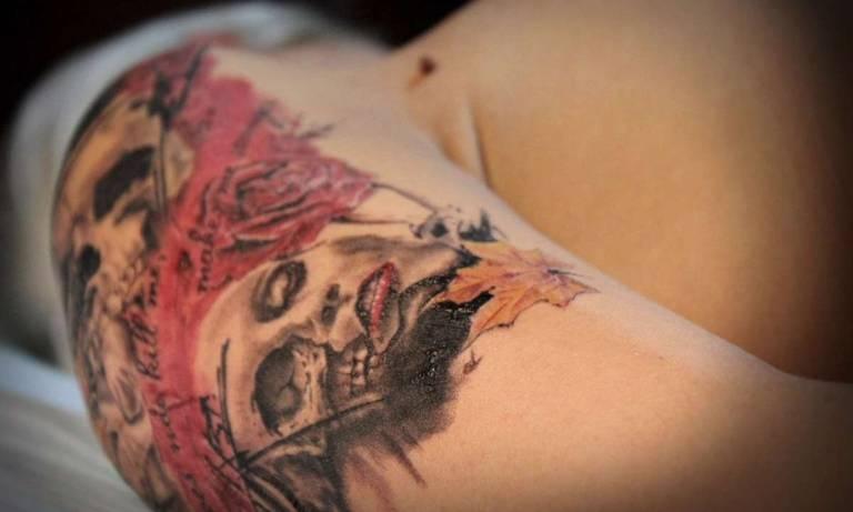 женские татуировки фото