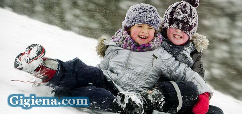 здоровье ребёнка зимой
