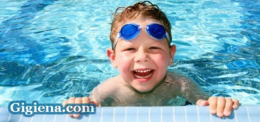 отдых в бассейне, поведение в бассейне