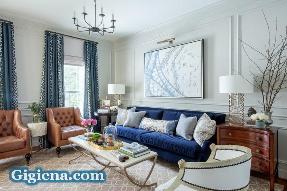 идеальный интерьер гостиной