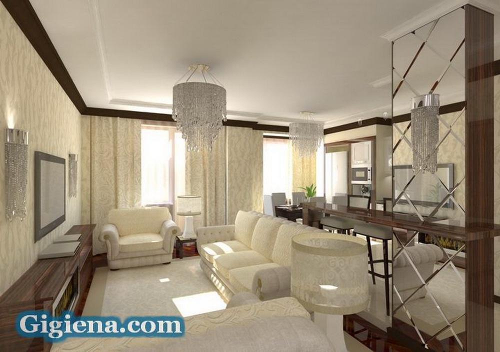 идеальный интерьер комнаты