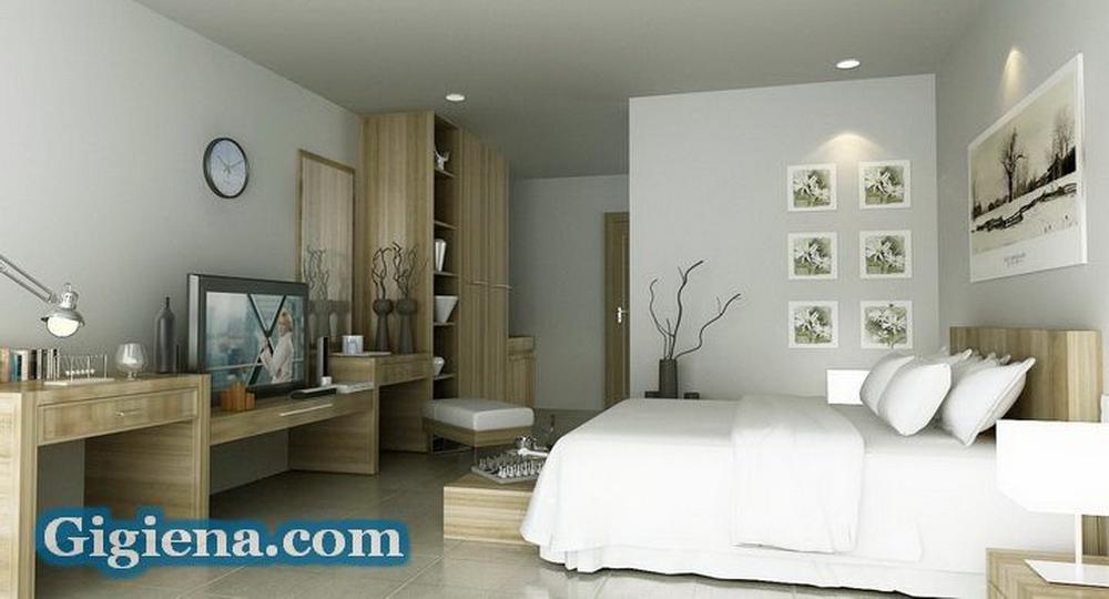 идеальный интерьер спальни