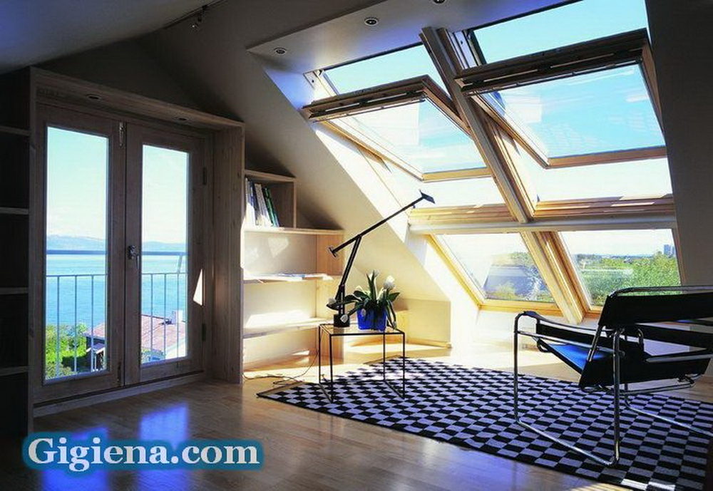 мансардные окна для уюта