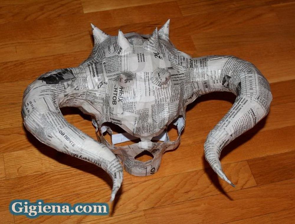 маски из папье маше
