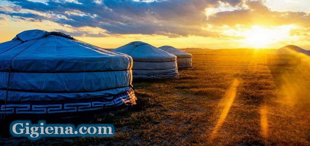 монгольские степи