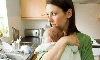 одинокая мама