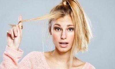 способ восстановления поврежденных волос