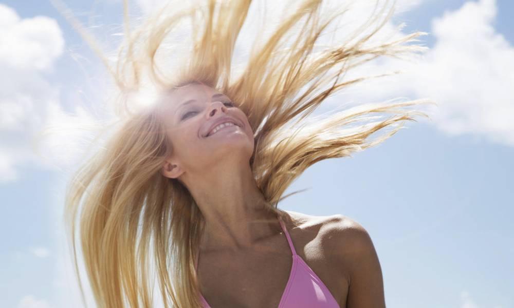 как сохранить красоту волос в жаркую погоду