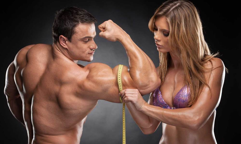 набрать мышечную массу