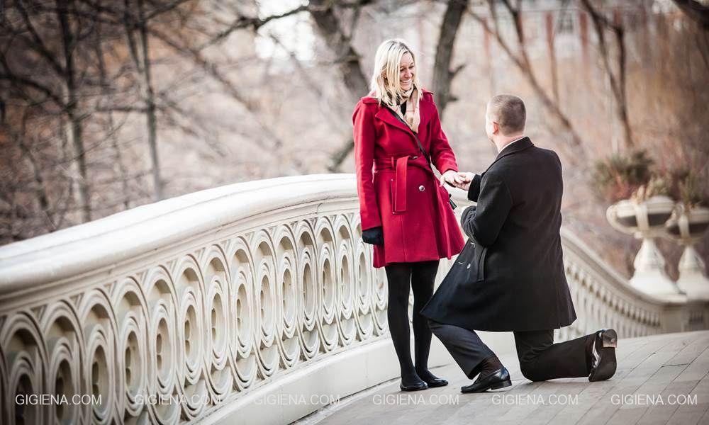 когда мужчина делает предложение выйти за него замуж