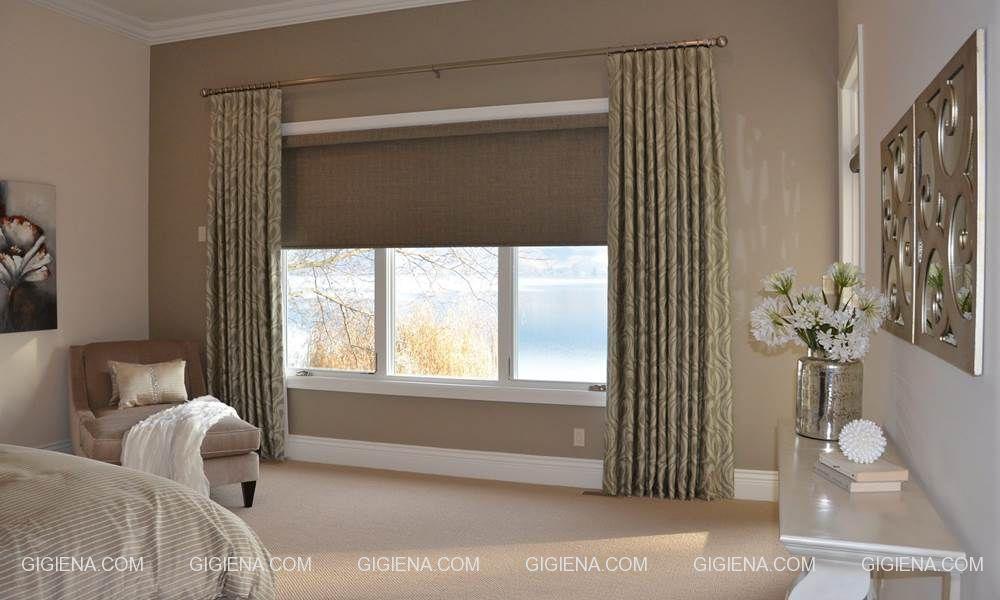рулонные шторы на окна для спальни