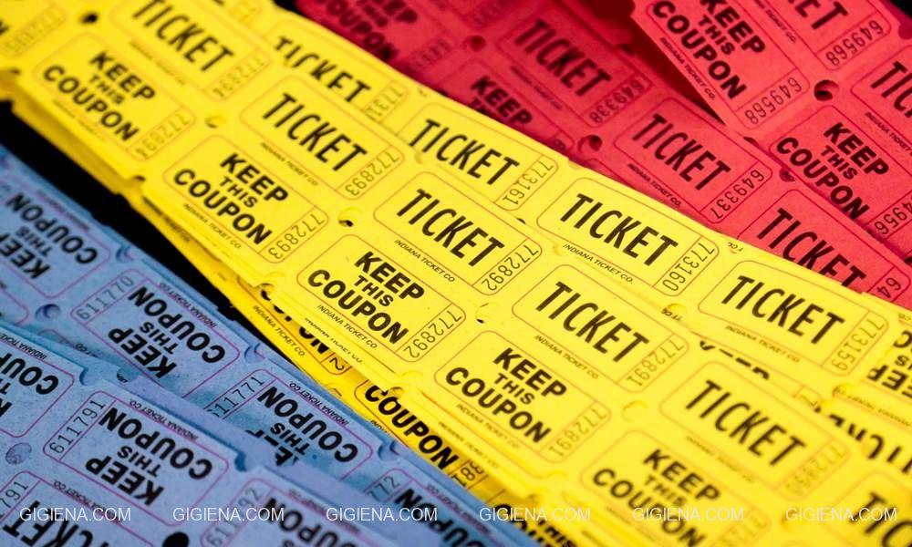 билеты и купоны