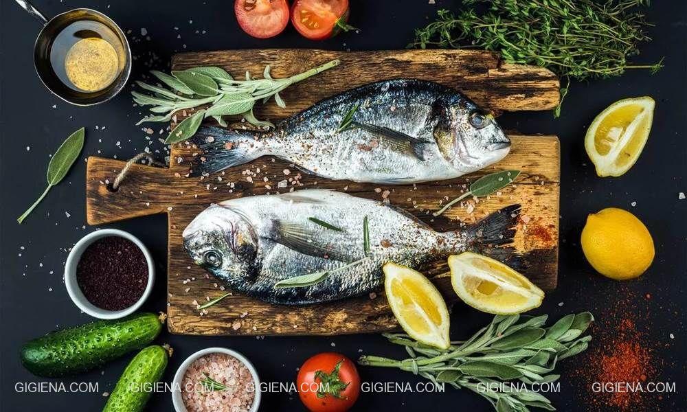 рыба в рационе человека