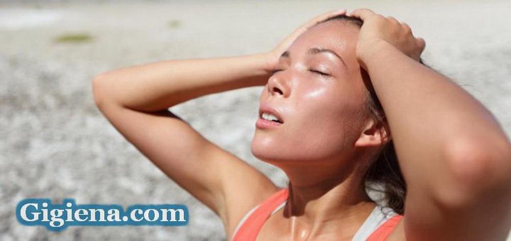 Опасность солнечного и теплового удара