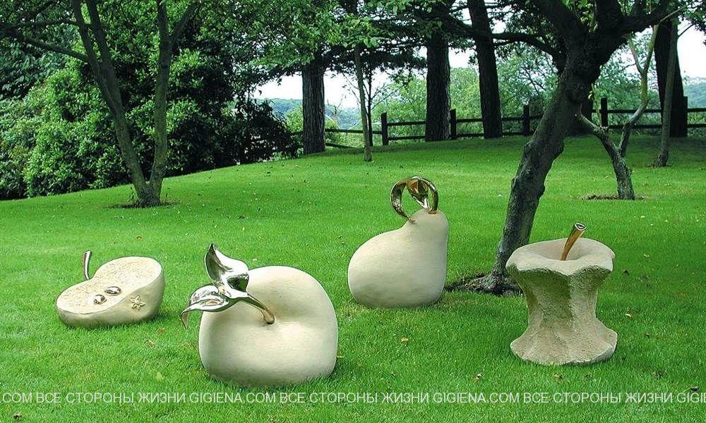 поразительные садовые композиции