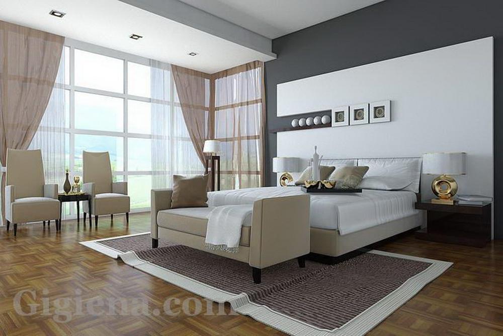 практичный дизайн спальни