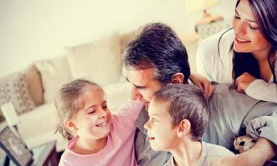 счастливая семья, счастливый дом
