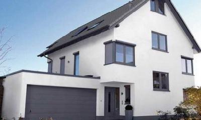 дом с метало пластиковыми окнами