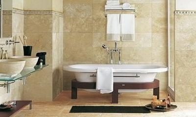 плитка в ванную под натуральный камень