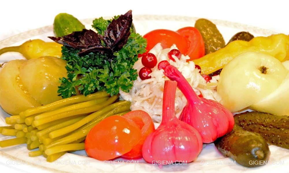 квашеные овощи польза