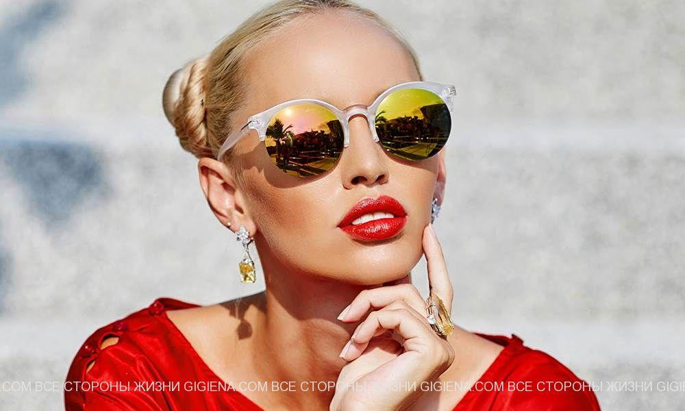 солнцезащитные очки мода фото