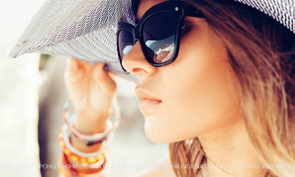 солнцезащитные очки стекло фото