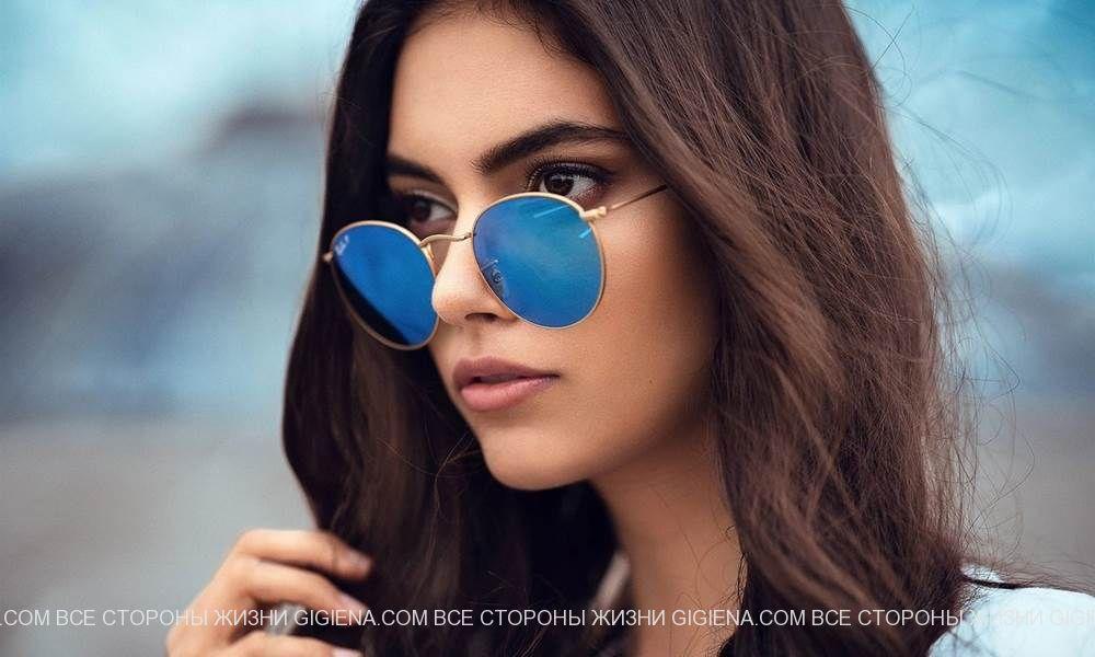 солнцезащитные очки женские фото