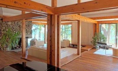 дома построенные из дерева