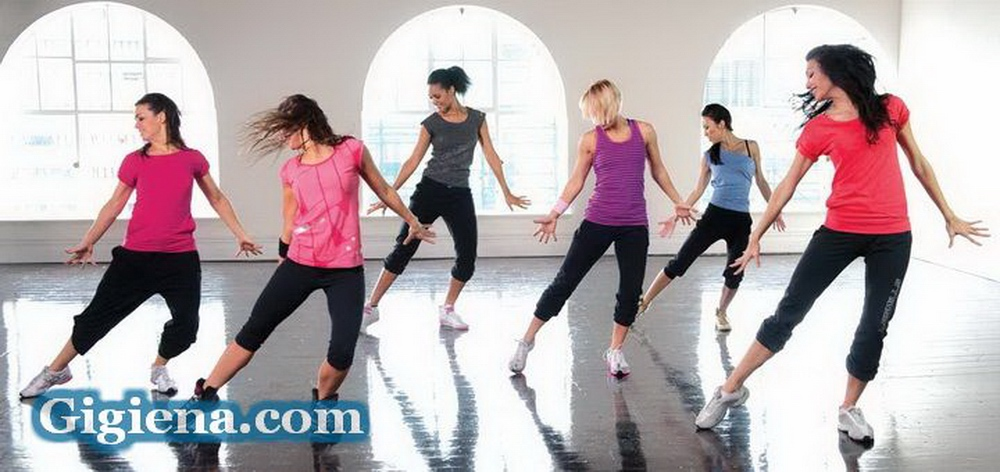 фитнес танец