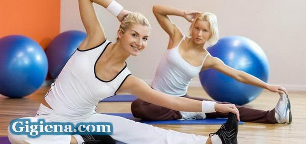 фитнес занятия для ног