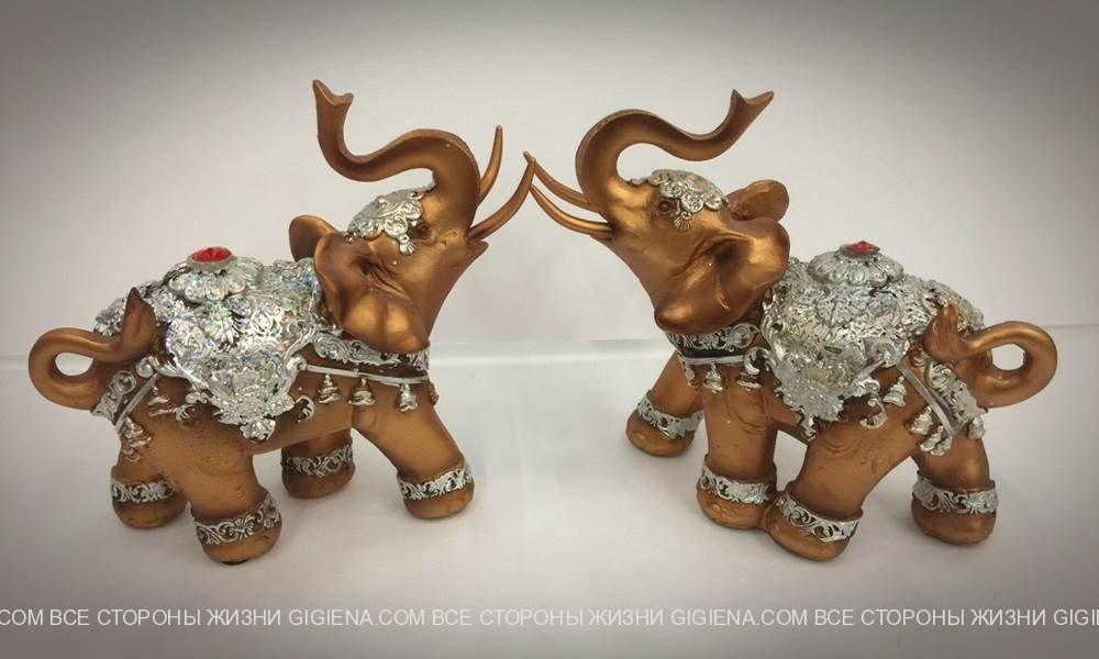 талисман слон в Фен шуй