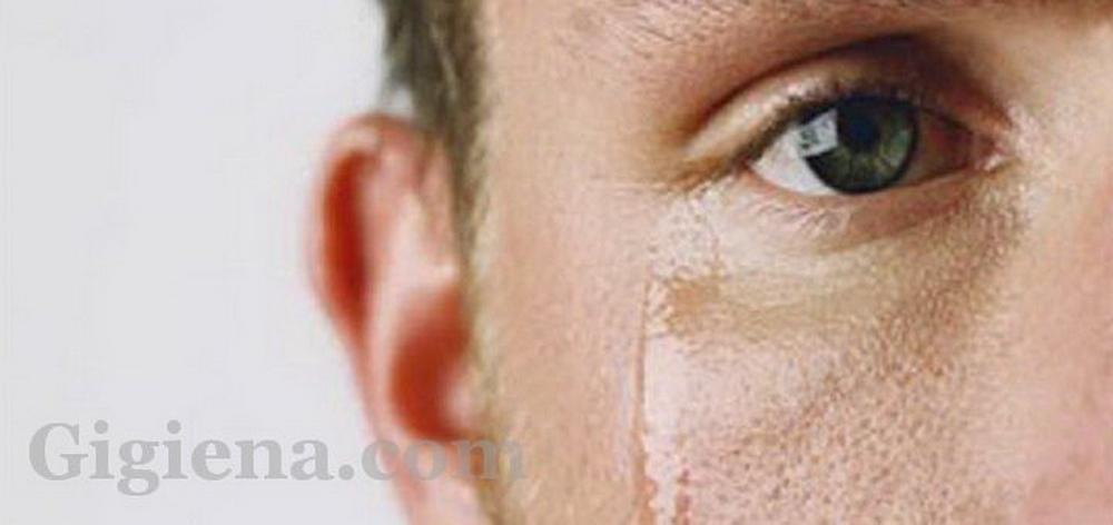 мужская слеза