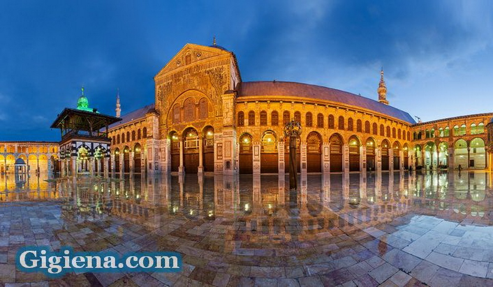 красивая мечеть Омейядов
