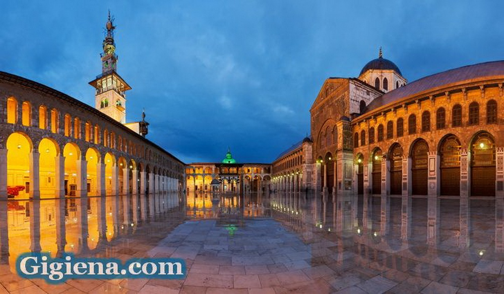 мечеть Омейядов внутренний двор