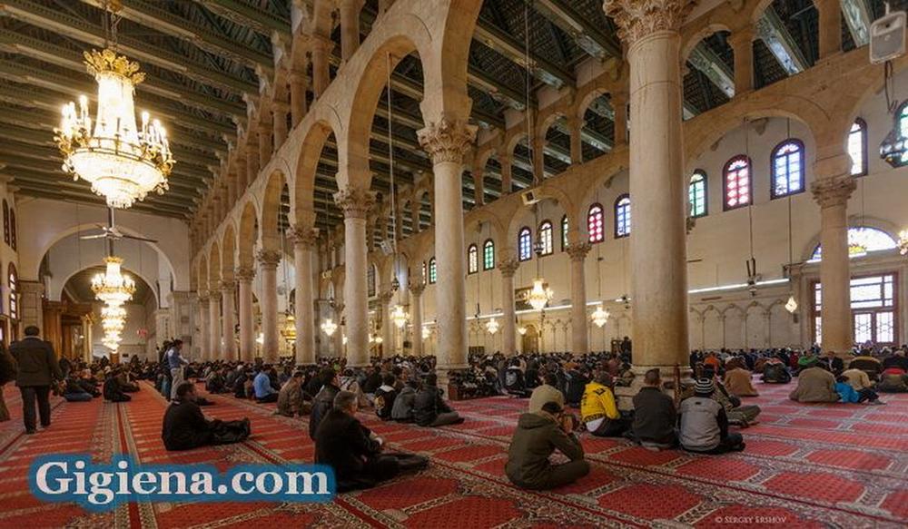 мечеть омейядов молитва