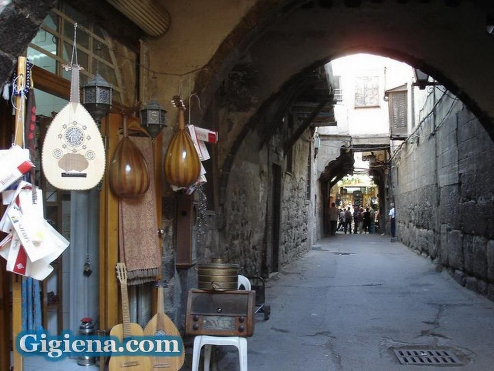 прогулка по старому дамаску