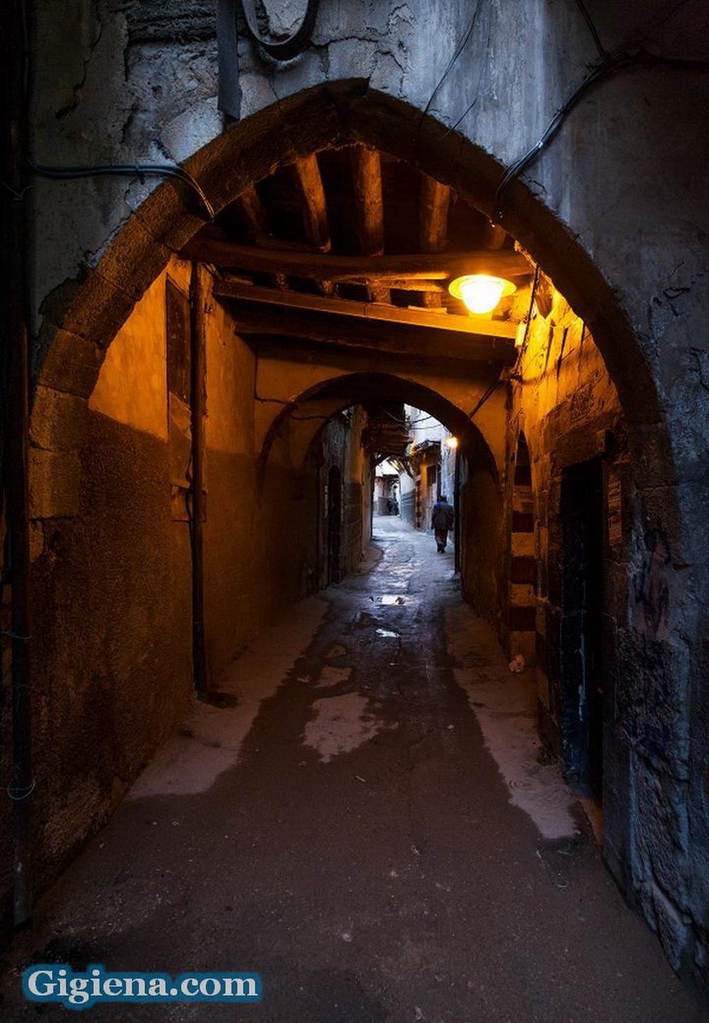 улицы старого дамаска