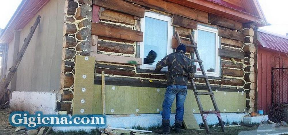 выполнить отделку деревянного дома