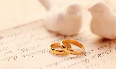 пара обручальные кольца