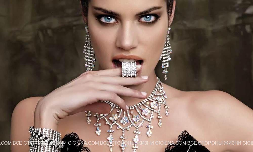 ювелирные изделия из серебра