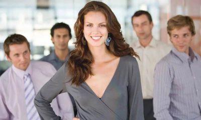 женщина в мужском коллективе