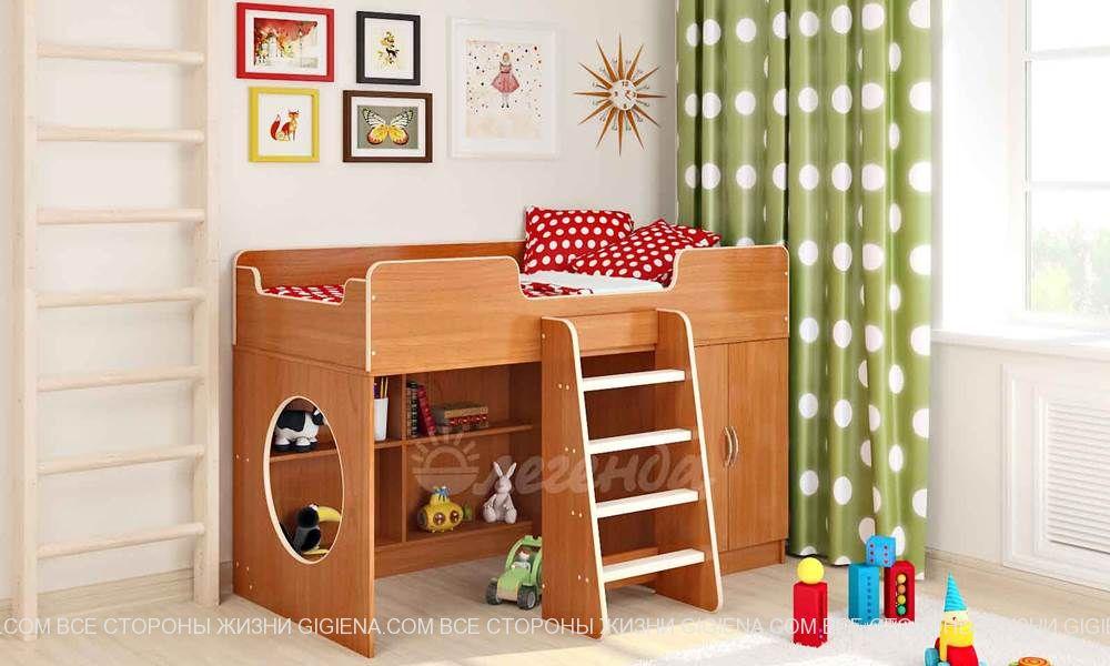 детские кровати чердаки фото